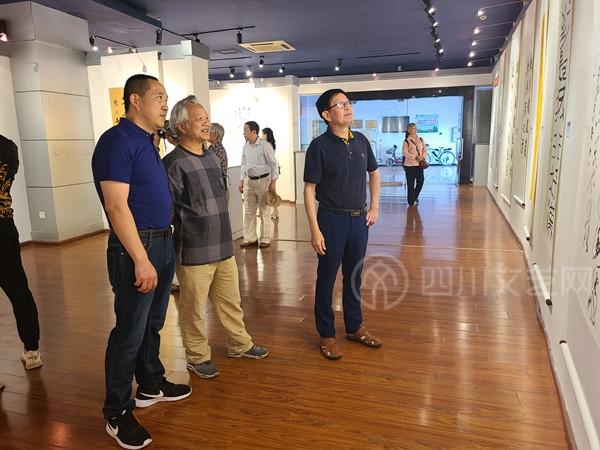 """自贡市书法家协会举办""""庆祝中国共产党成立100周年""""书法展"""